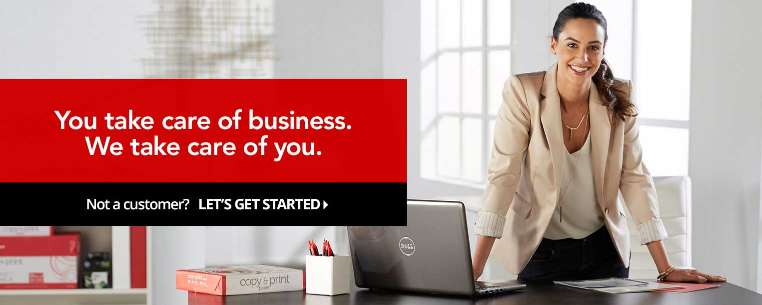 Become a customer today