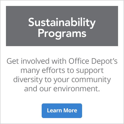Sustainability Programs - Get involved