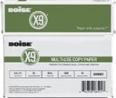 Boise x9 copy paper