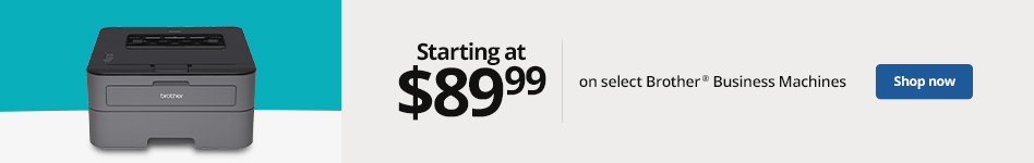Brother business machines starting at $89.99