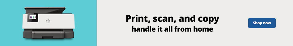 Print, scan, and copy - Handle it all from Home