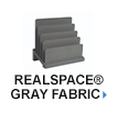 Realspace Gray Fabric