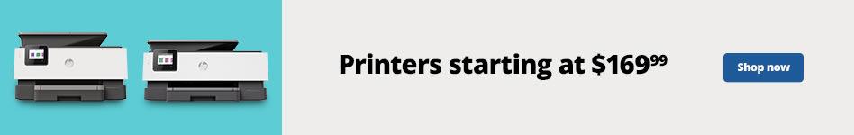 Printersstarting at $169.99