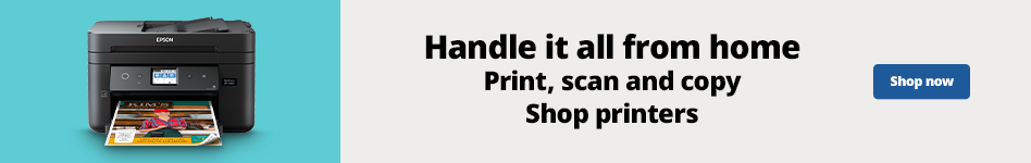 Handle it all from Home - Print, Scan, and Copy - Shop Printers