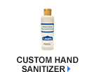 custom hand sanitizer