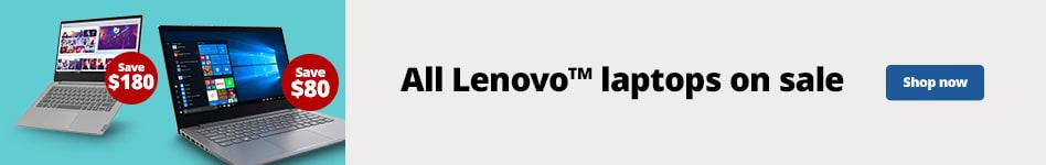"""All Lenovo Laptops on Sale"""