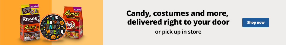 Candy, costumes and more, delivered right to your door