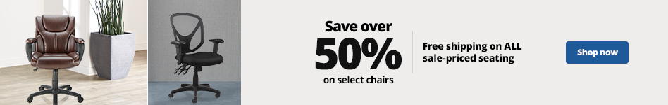 Save over 50% on select chairs