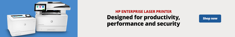 HP Enterprise Laser Printer Designed for productivity, performance and security