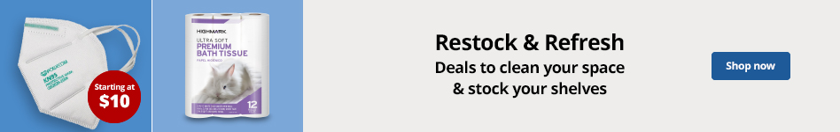 Restock & Refresh - Deals to clean your space & stock your shelves