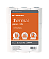 """Office Depot® Brand Thermal Paper Rolls, 2-1/4"""" x 85', White, Pack Of 9"""