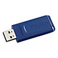 Verbatim® USB Flash Drive, 2GB, Blue