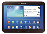 """Samsung Galaxy Tab® 3 Tablet, 10.1"""" Screen, 16GB Memory, 16GB Storage, Android 4.2 Jelly Bean, Gold/Brown"""