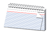"""Office Depot® Brand Spiral Ruled Index Cards, 3"""" x 5"""", White, Pack Of 50"""