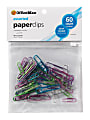 OfficeMax Vinyl Coated Assorted Color Paper Clips