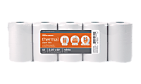 """Office Depot® Brand Thermal Paper Rolls, 2-1/4"""" x 50', White, Pack Of 10"""