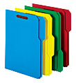 Office Depot® Brand File Folders With 2 Fasteners, 1/3 Tab, Letter Size, Assorted Colors, Pack Of 50