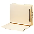 Smead® Self-Adhesive Folder Dividers With Fasteners, Letter Size, Pack Of 25