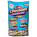 MARS Chocolate Favorites Minis Size Candy Bars Assorted Variety Mix Bag, 40 Oz