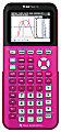 Texas Instruments® TI-84 Plus CE Color Graphing Calculator, Pink