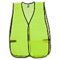 R3® Safety General Purpose Safety Vest, Lime Green