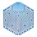 Genuine Joe Fresh Blast Scent Urinal Screen - Fresh Blast - Odor Neutralizer, Ozone-safe - 12 / Box - Gray, Smoke