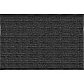 Realspace® Tough Rib Floor Mat, 4' x 6', Charcoal