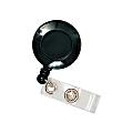Office Depot® Brand Retracting ID Card Reel, Black