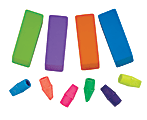 Office Depot® Brand Pencil Top/Beveled Erasers, Assorted, Pack Of 14