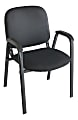 Realspace® Stacking Guest Chair, Black