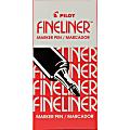 Pilot Fineliner Markers - Fine Pen Point - 0.7 mm Pen Point Size - Red - Acrylic Fiber Tip - 12 / Dozen