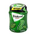 Trident® gum Sugar-Free Soft Sticks Spearmint Gum, 50 Pieces Per Cup, Box Of 6 Cups