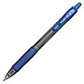 Pilot® G-2™ Retractable Gel Pens, Bold Point, 1.0 mm, Clear Barrels, Blue Ink, Pack Of 12 Pens