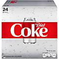 Diet Coke, 12 Oz, Case Of 24 Cans