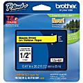 "Brother® TZe-631 Black-On-Yellow Tape, 0.5"" x 26.2'"