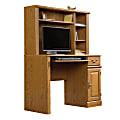 "Sauder® Orchard Hills Computer Desk With Hutch, 42 5/8"" W, Carolina Oak"