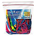 Alliance Rubber® Brites® File Bands, Assorted, Bag Of 50