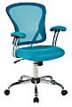Office Star™ Avenue Six Juliana Mesh Task Chair, Blue/Silver