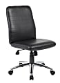 Boss Office Products Retro Task Chair, Black/Chrome