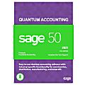 Sage 50 Quantum Accounting 2021 U.S. 5-User (Windows)