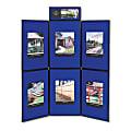 Quartet® ShowIt® 6-Panel Presentation System For Tabletop/Floor Display