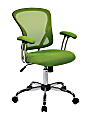 Office Star™ Avenue Six Juliana Mesh Task Chair, Green/Silver