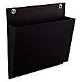 See Jane Work® Connecting Wall File, Letter Size, Black