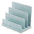 See Jane Work® Letter Sorter, File & Letter Sorter, Blue Herringbone