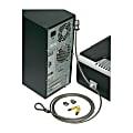 SKILCRAFT® Computer Lock Down Kit, Gray