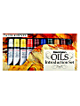 Daler-Rowney Introduction To Georgian Oil Paint Set, 22 mL, Assorted Colors, Set Of 10