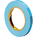 """Scotch® 8896 Strapping Tape, 3"""" Core, 0.5"""" x 60 Yd., Blue, Case Of 12"""