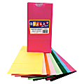 "Hygloss Bright Color Bagz - Craft Project, Decoration - 50 Piece(s) - 8.50"" x 4.50"" x 2.50"" - 50 / Pack - Assorted - Paper"