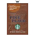 Starbucks® Single-Serve Coffee Freshpacks, Dark Roast, Pike Place, Carton Of 80