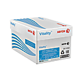 """Xerox® Vitality™ Pastel Multi-Use Paper, Letter Size (8 1/2"""" x 11""""), 20 Lb, FSC® Certified, 30% Recycled, Blue, Ream Of 500 Sheets, Case Of 10 Reams"""